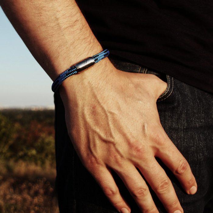 Bergseil Armband Einfachseil Steinbock Model