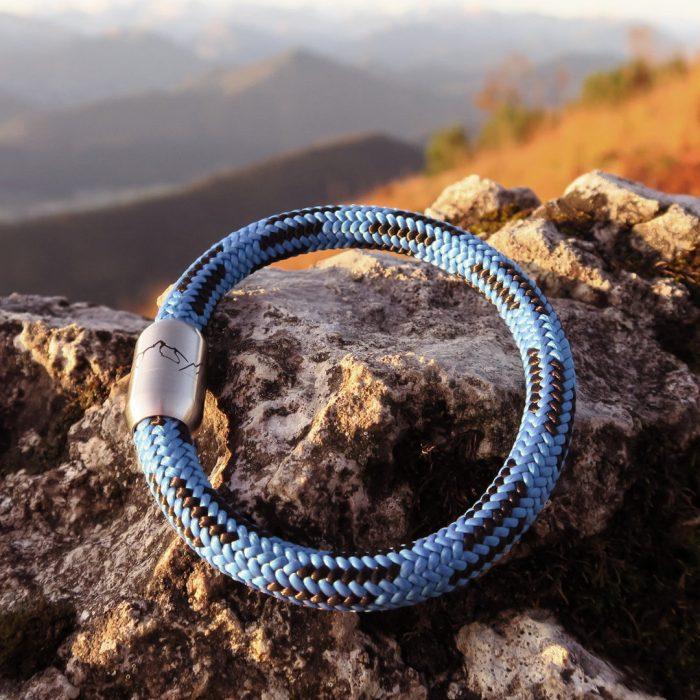 Bergseil Armband Einfachseil Steinbock Brauneck