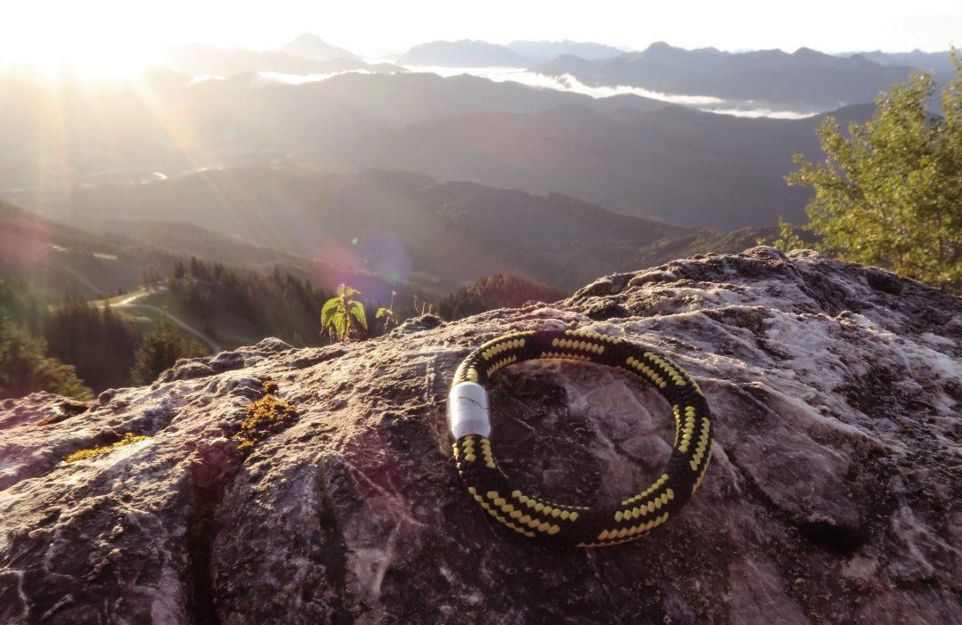 Fjella Bergseil Armband Einfachseil Webseite