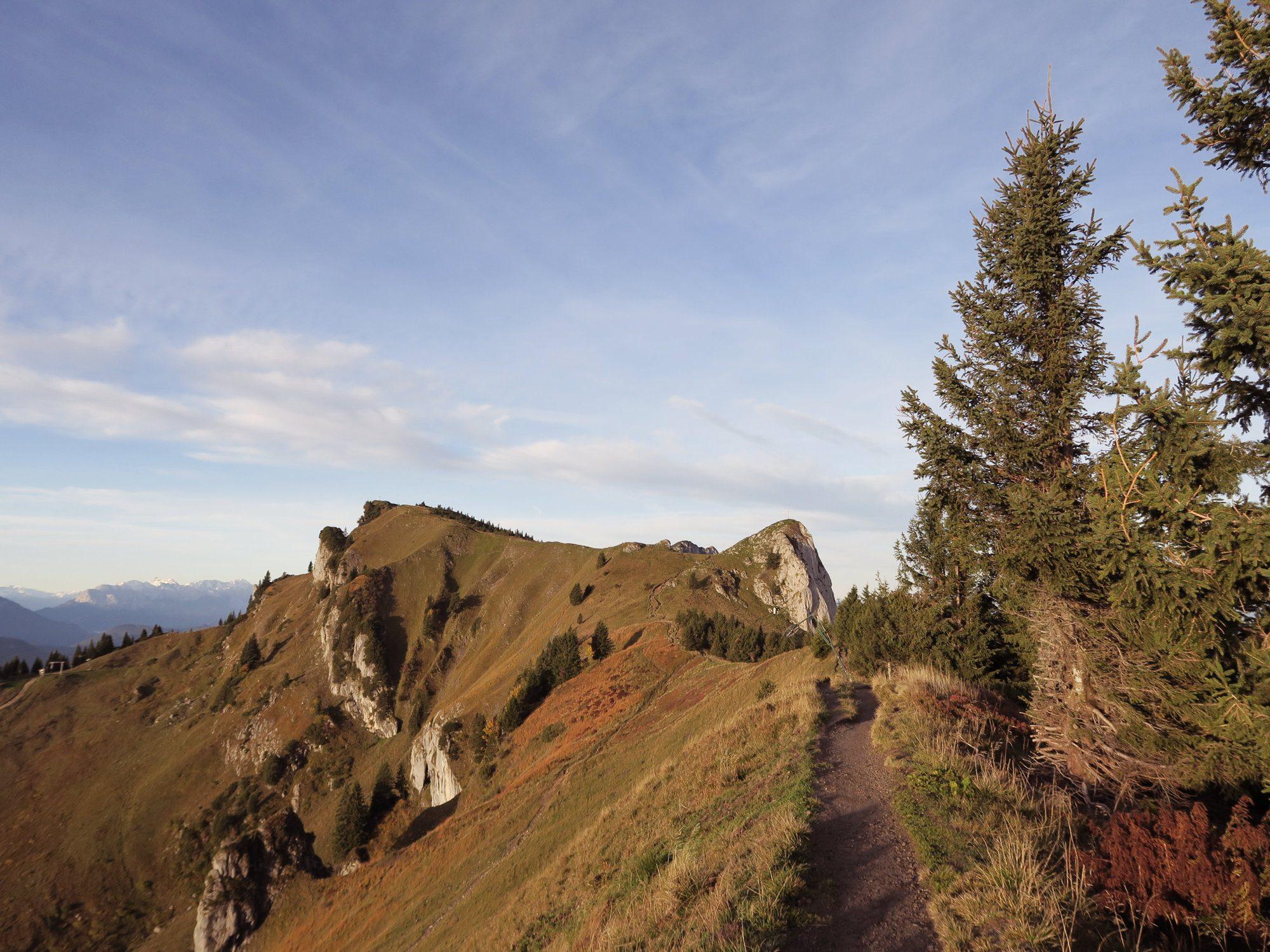 Gratwanderung im Herbst zum Kirchstein und Latschenkopf FJELLA