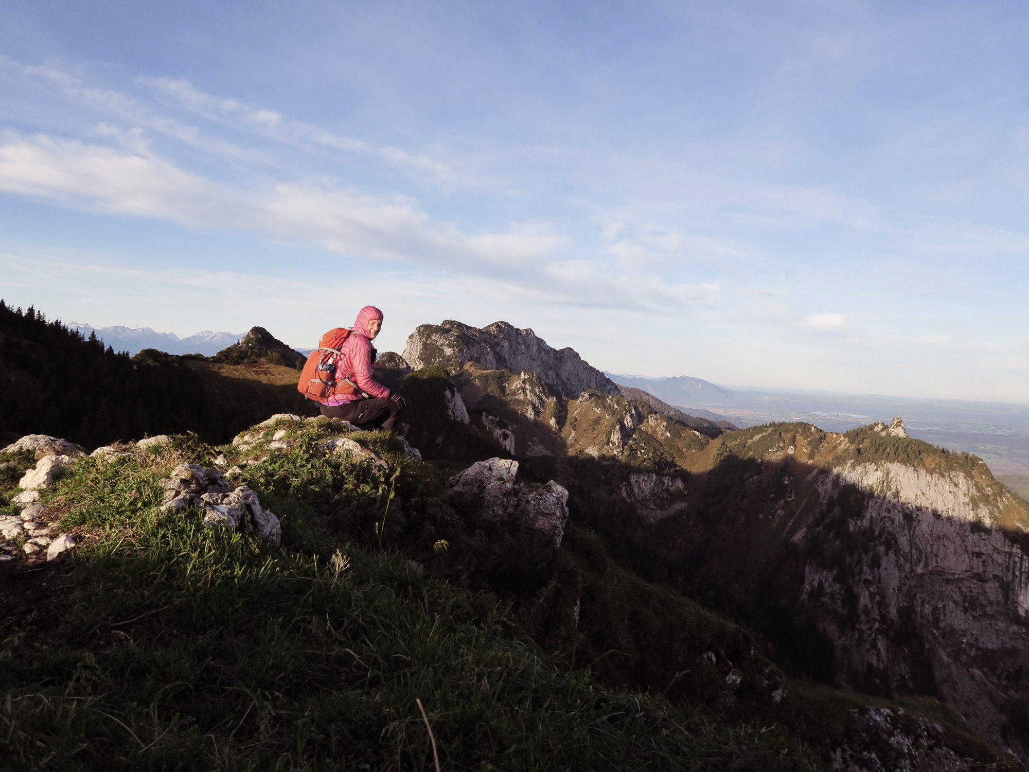 Gipfelglück am Vorderen Kirchstein