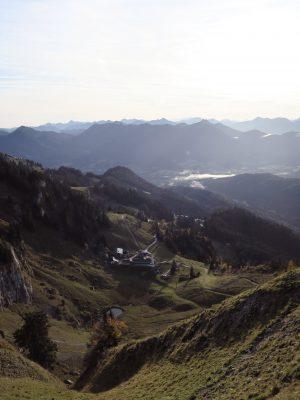 Herbstwanderung Brauneck Benediktenwand FJELLA