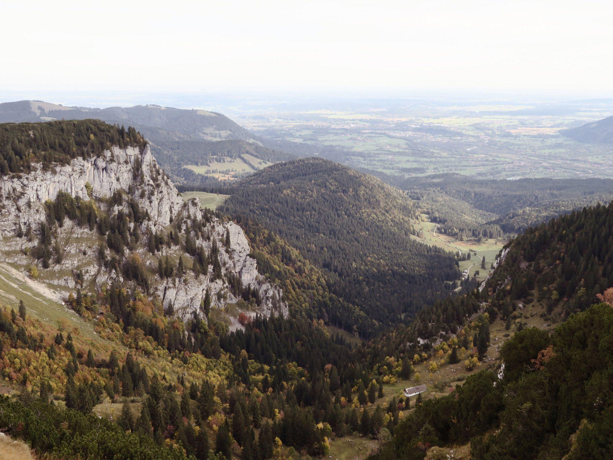 Herbstlicher Blick ins Längental