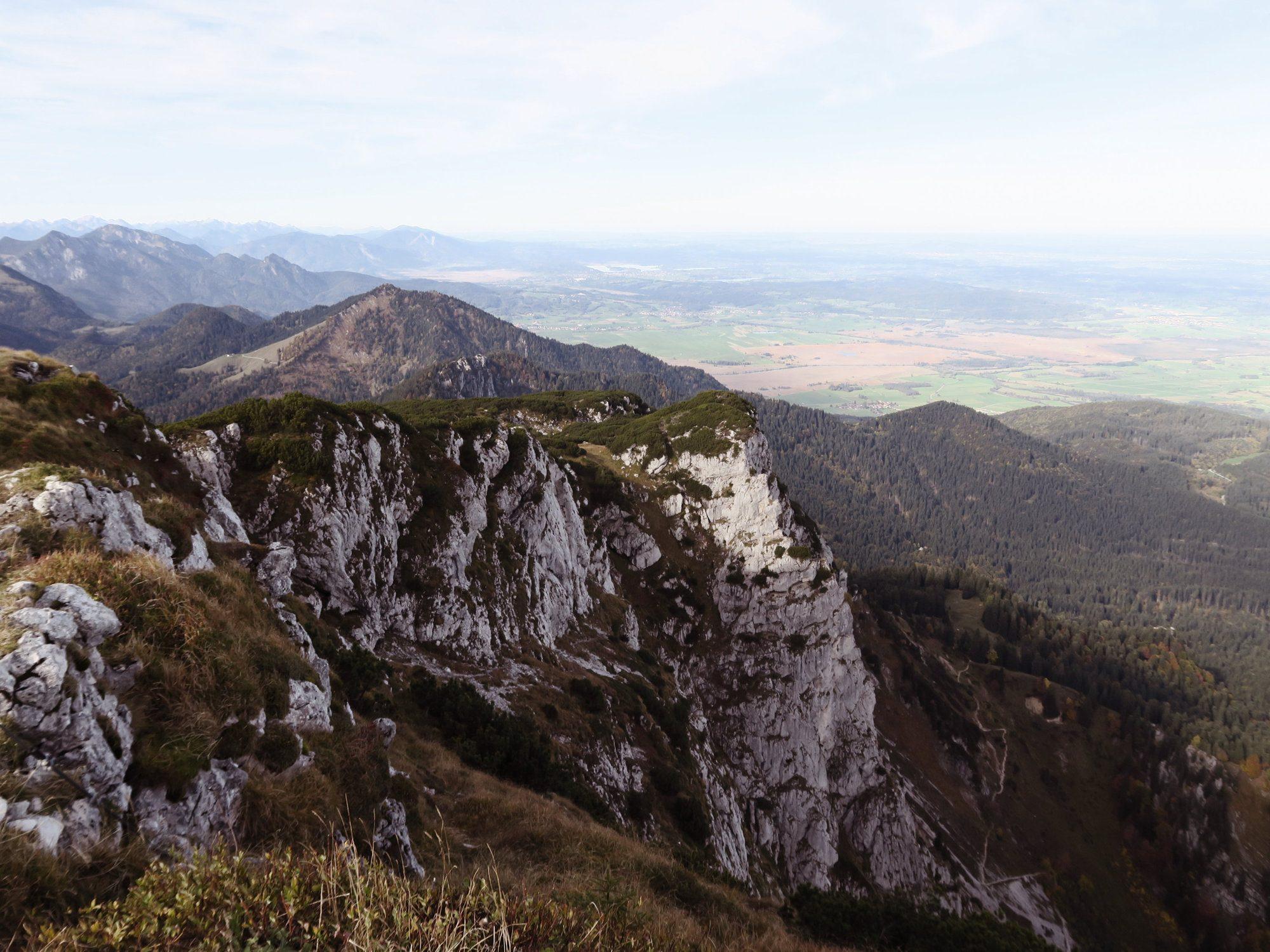 An der steilen Benediktenwand