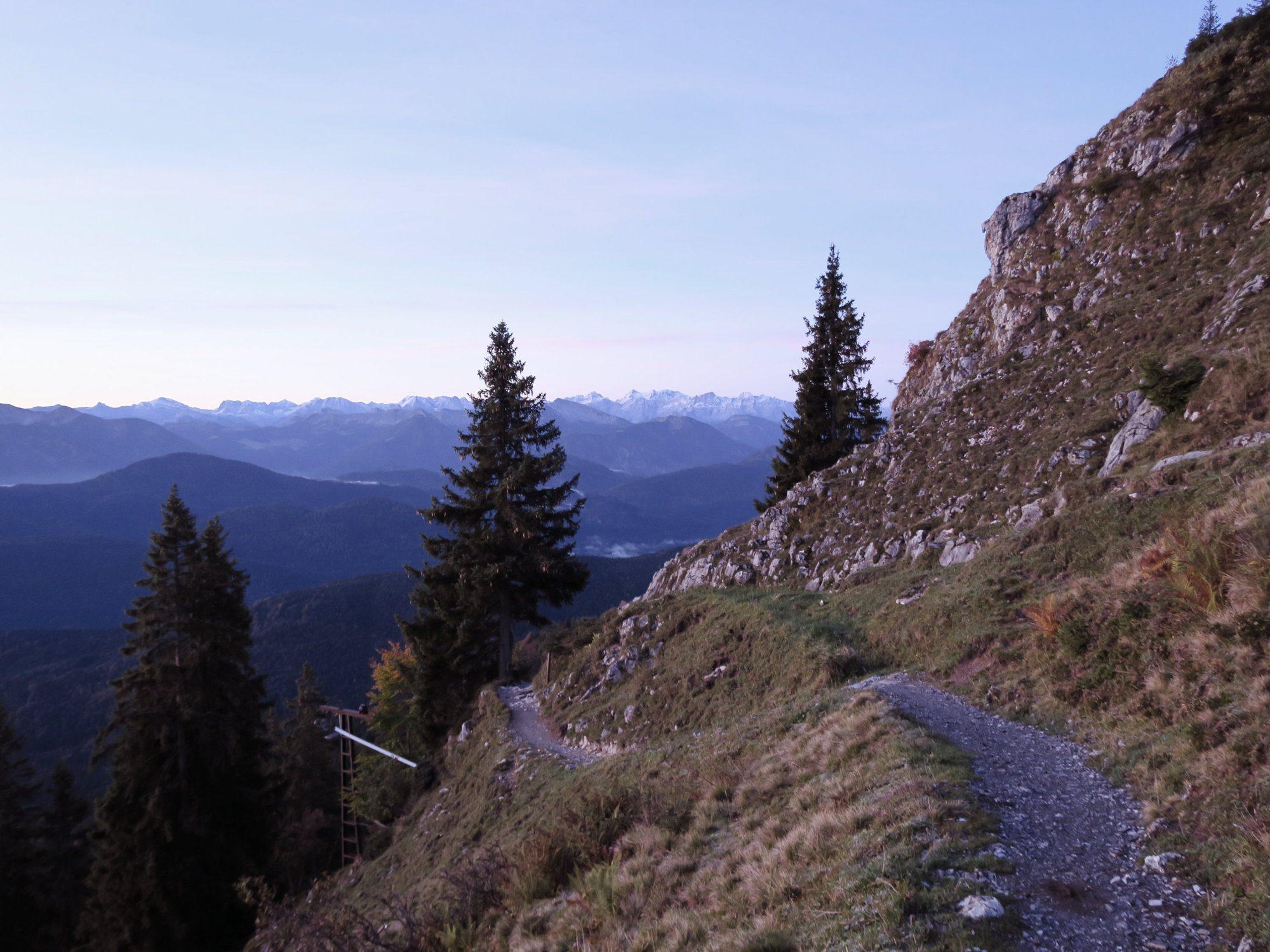Herbstwanderung Brauneck Benediktenwand