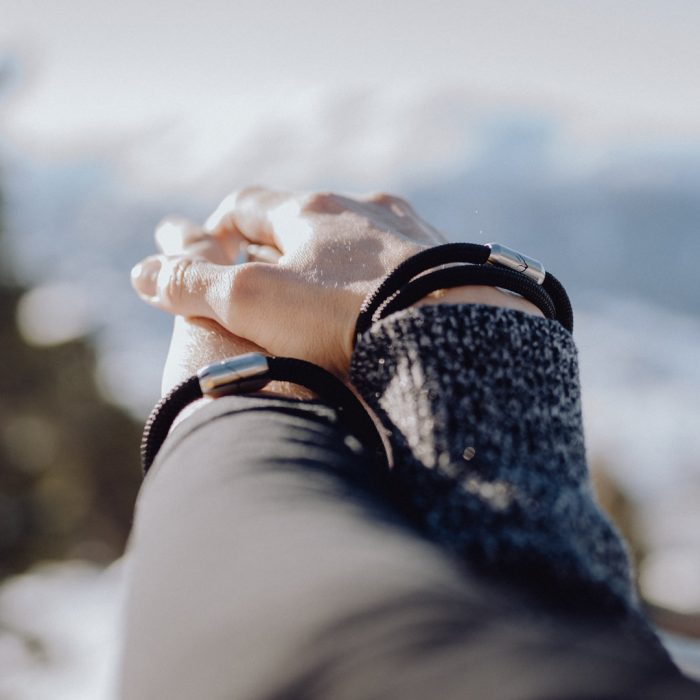 Partnerarmbänder Alpensalamander