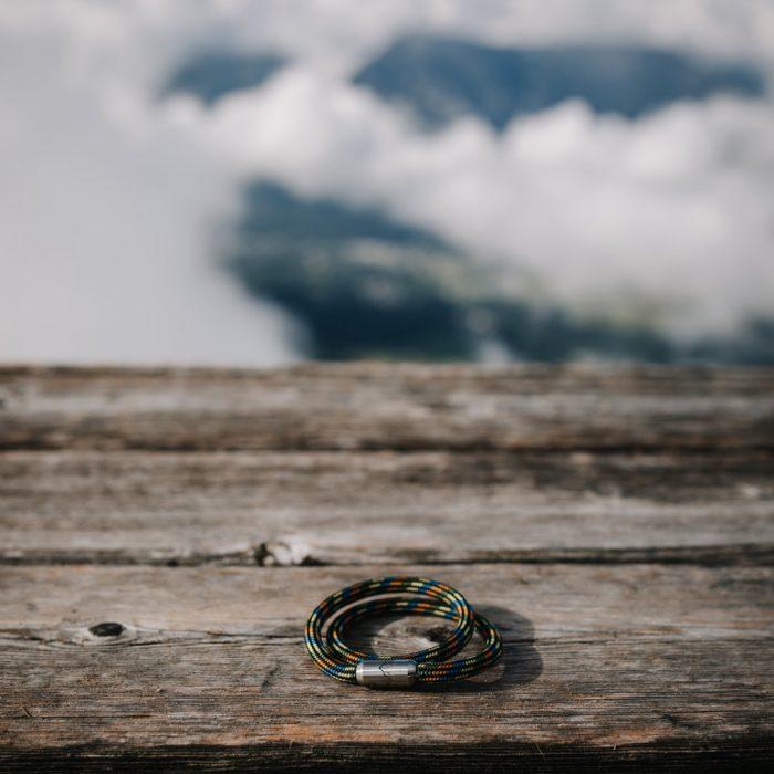 Bergseil Armband Doppelseil Luchs
