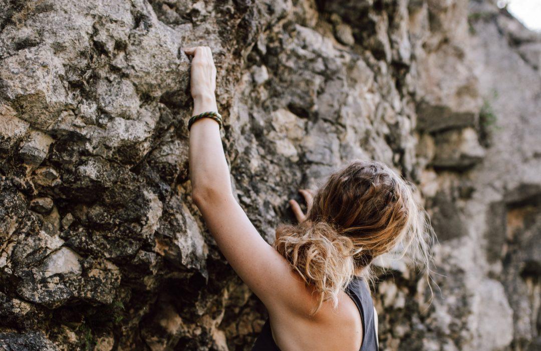 Bergseil Armband Luchs Kletterin Nicole Kubiak Webseite