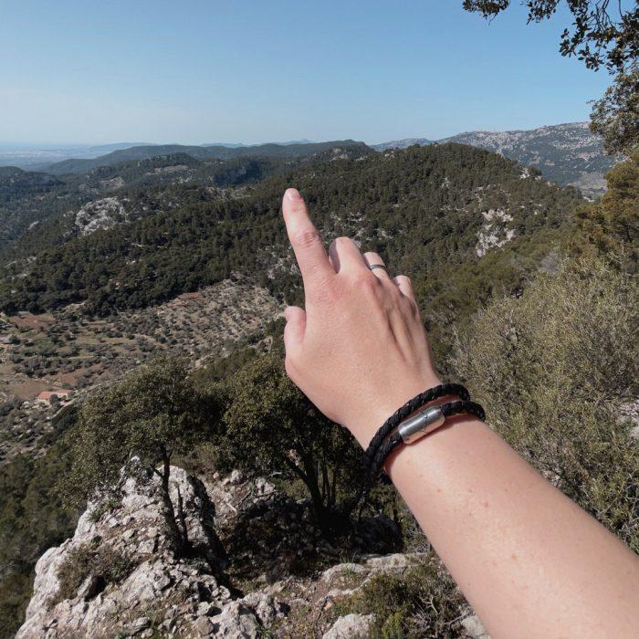 Bergseil Armband Wanderfalke Mallorca