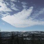 Ausblick vom Siebensteinkopf, Schneeschuhwandern und Winterwandern Bayerischer Wald
