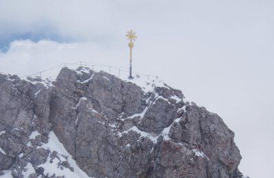 Gipfel Zugspitze, beim Sonnenuntergang, Heiraten in den Bergen, Standesamtlich Heiraten in den Bergen, Almhochzeit, Hochzeit in den Bergen