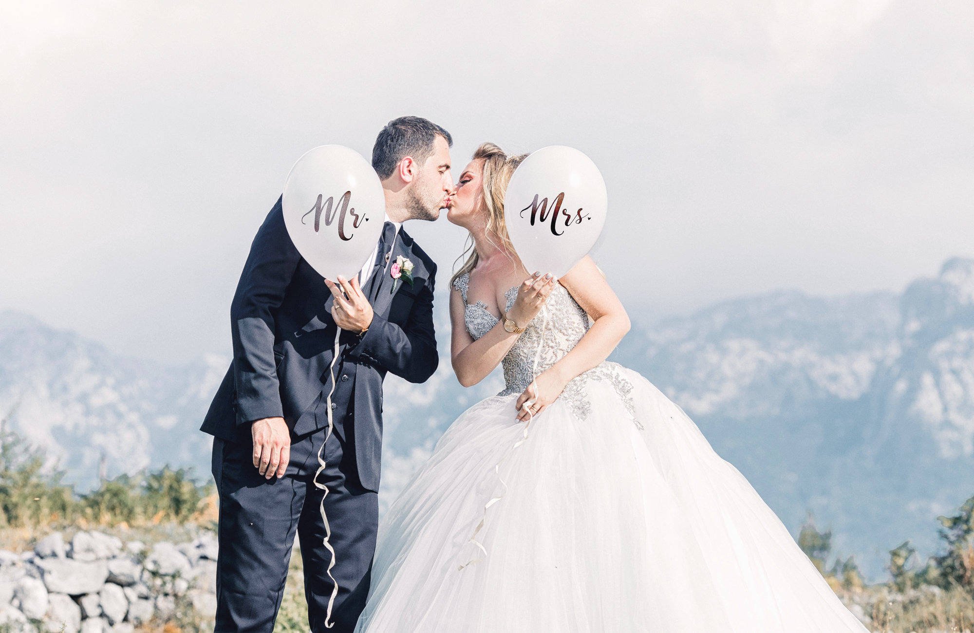 Brautpaar in den Bergen, Heiraten in den Bergen, Standesamtlich Heiraten in den Bergen, Almhochzeit, Hochzeit in den Bergen