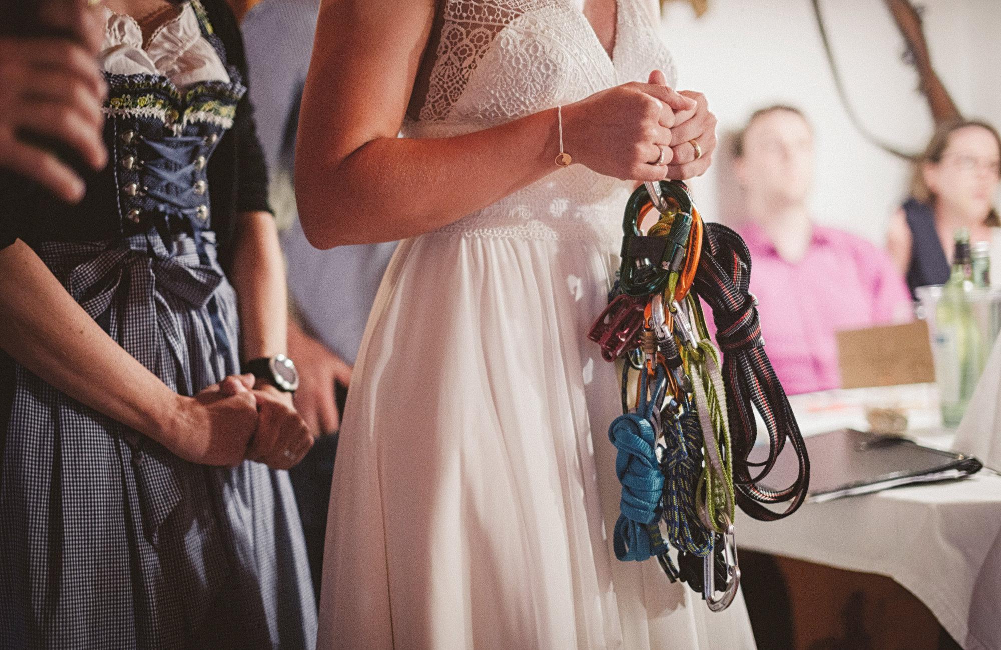 Alpenblick Armband, Hochzeitschmuck für Bergfans Bergzauber Kette Silber Hochzeitskleid