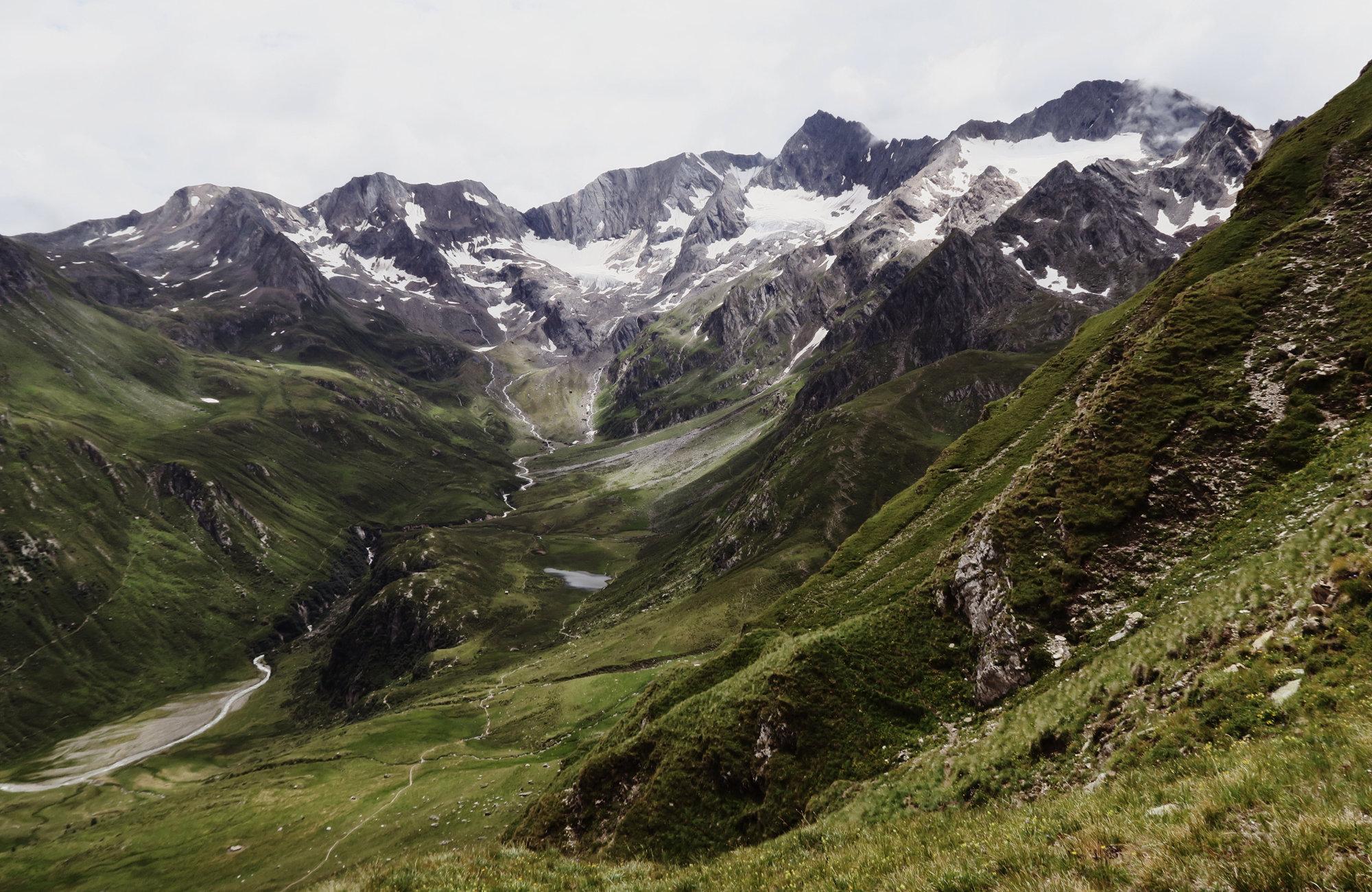 Bergpanorama, Wanderung Königsjoch, Obergurgl nach Südtirol, Bergwandern Ötztal, Wandertour Ötztal, Stubaier Alpen, Tirol