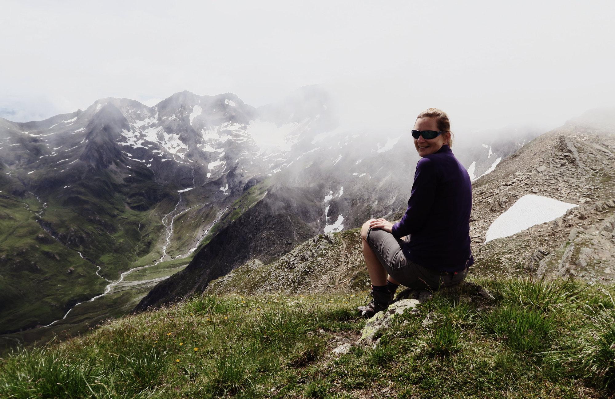 Auf dem Königsjoch, Wanderung Königsjoch, Obergurgl nach Südtirol, Bergwandern Ötztal, Wandertour Ötztal, Stubaier Alpen, Tirol