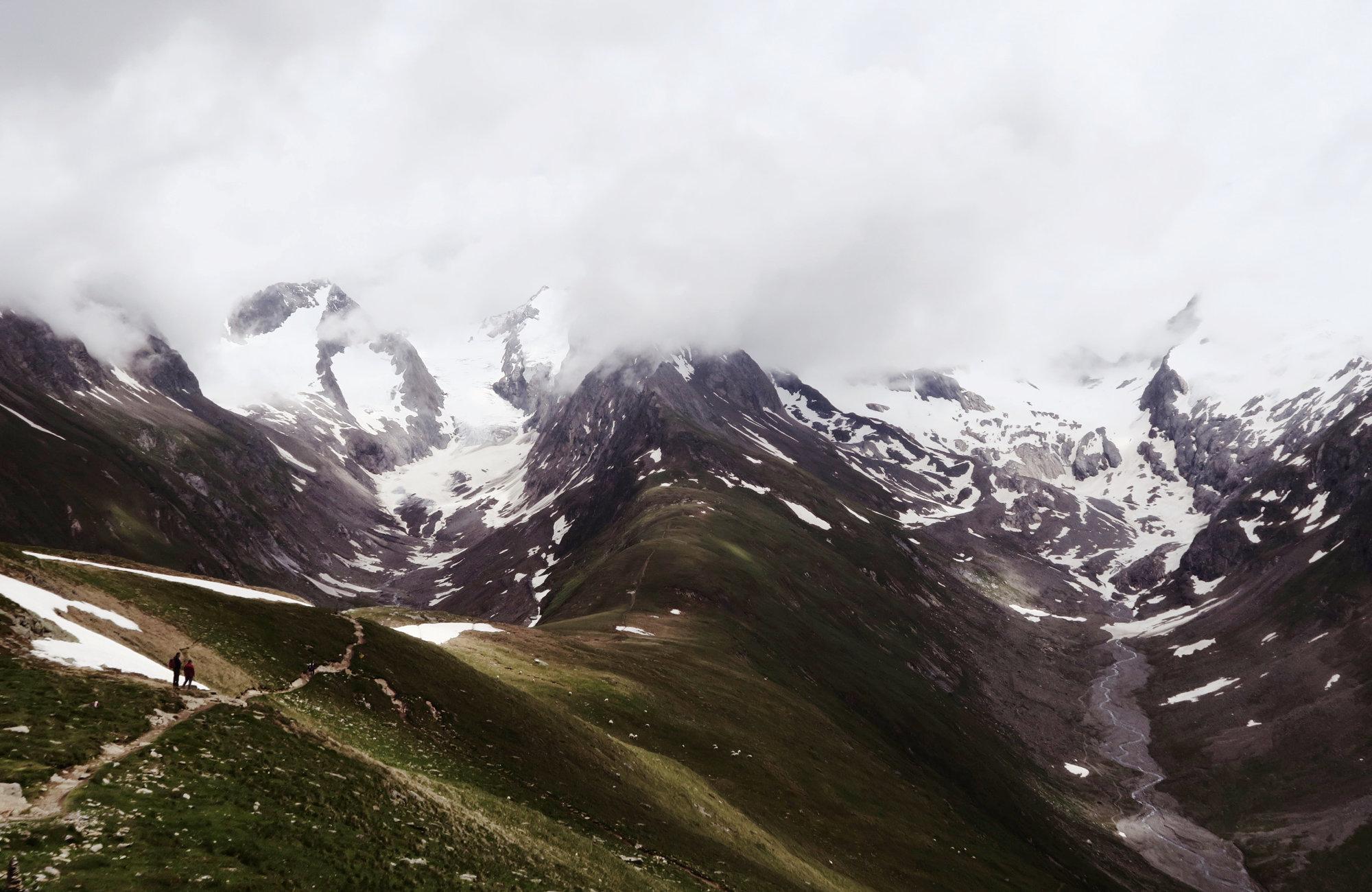 Wandertour Rotmoosferner und Gaisbergtal, Wandern im Ötztal, Wandertour Ötztal, Alpen, Tirol, Gletscher