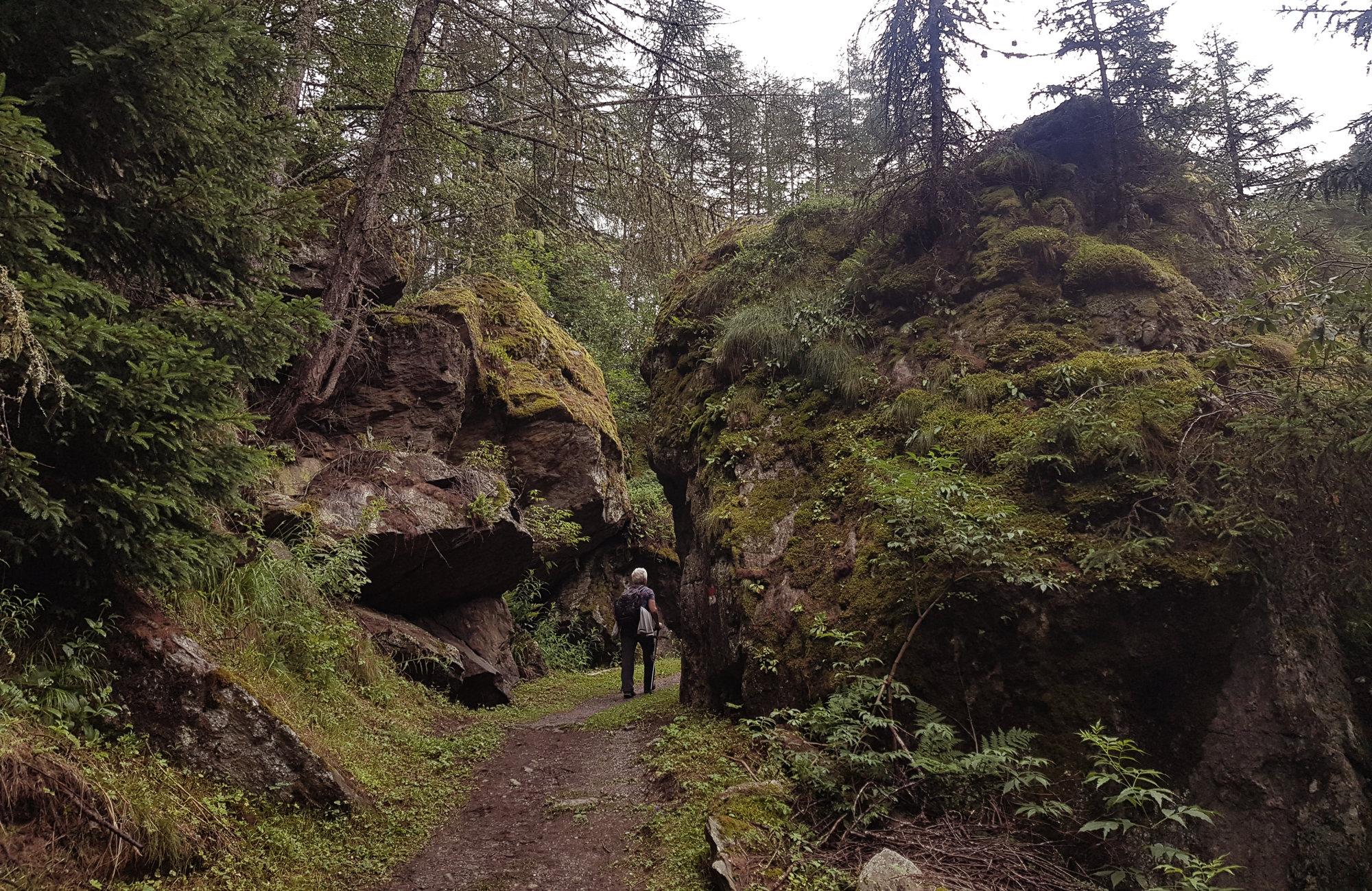Auf dem Ötztaler Urweg, Wandern Ötztaler Urweg, Wandern im Ötztal, Trekking im Ötztal, Ötztaler Alpen, Tirol, Genusswanderung, Regenwanderung