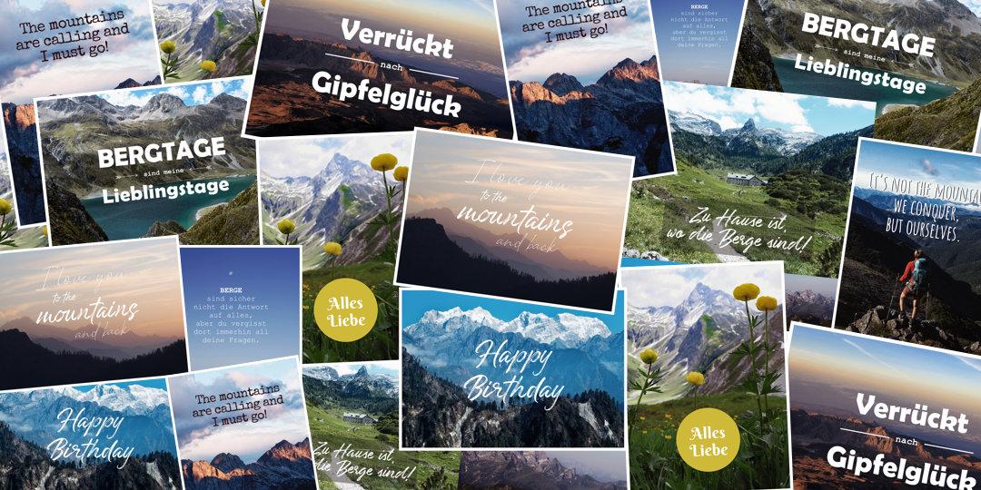 Berg Postkarten schreiben, Ostern zu Hause, Osterferien daheim für Bergfans und Outdoormenschen, Ostern Coronavirus, Corona Zeiten, Ideen für Ostern zu Hause
