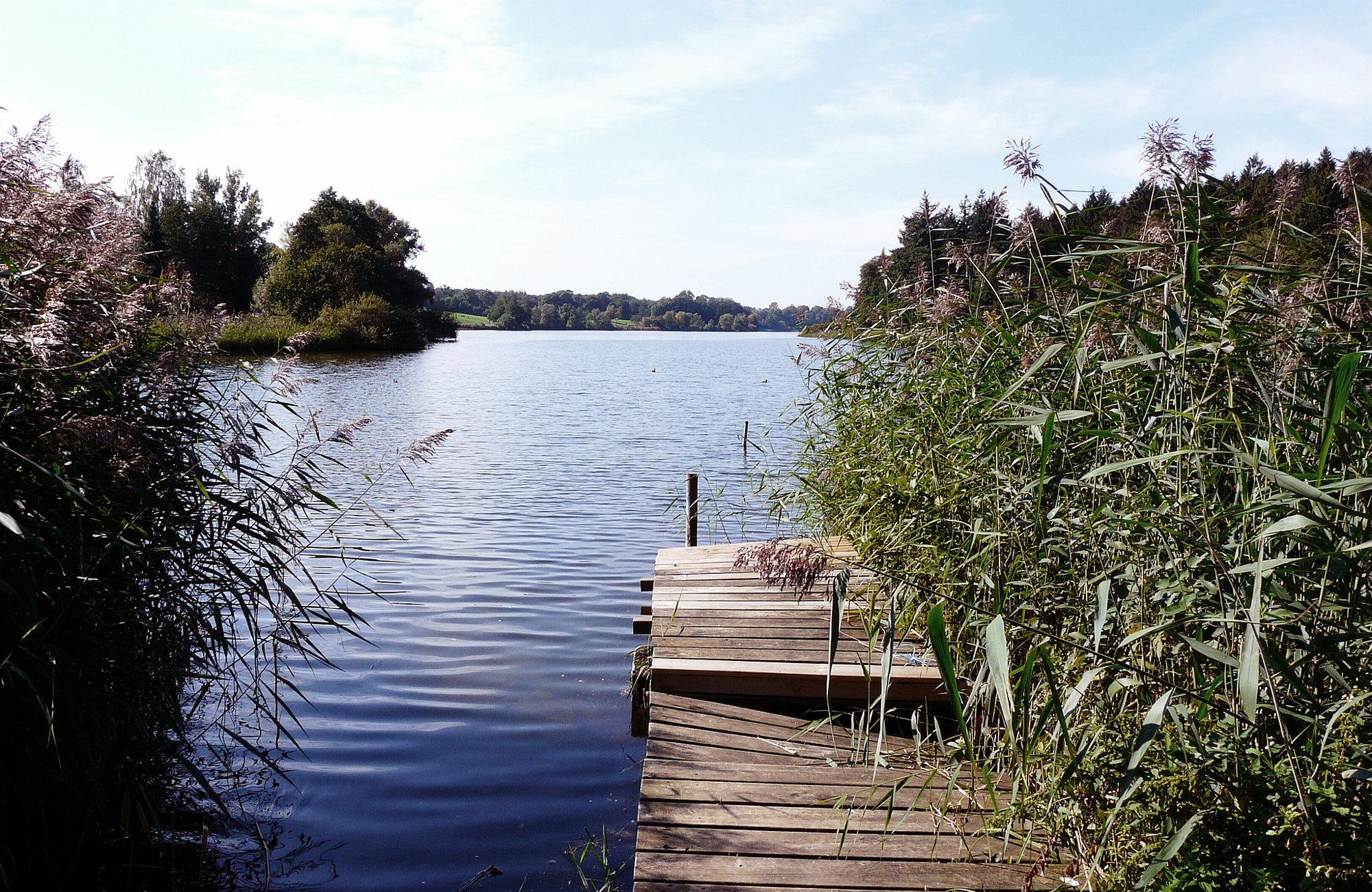 Großer Eutiner See, Wandern in Schleswig-Holstein