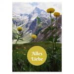 Postkarte: Alles Liebe