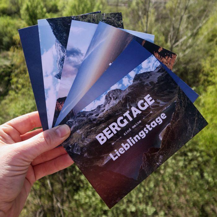 Postkartenset Bergsprüche Wanderzitate