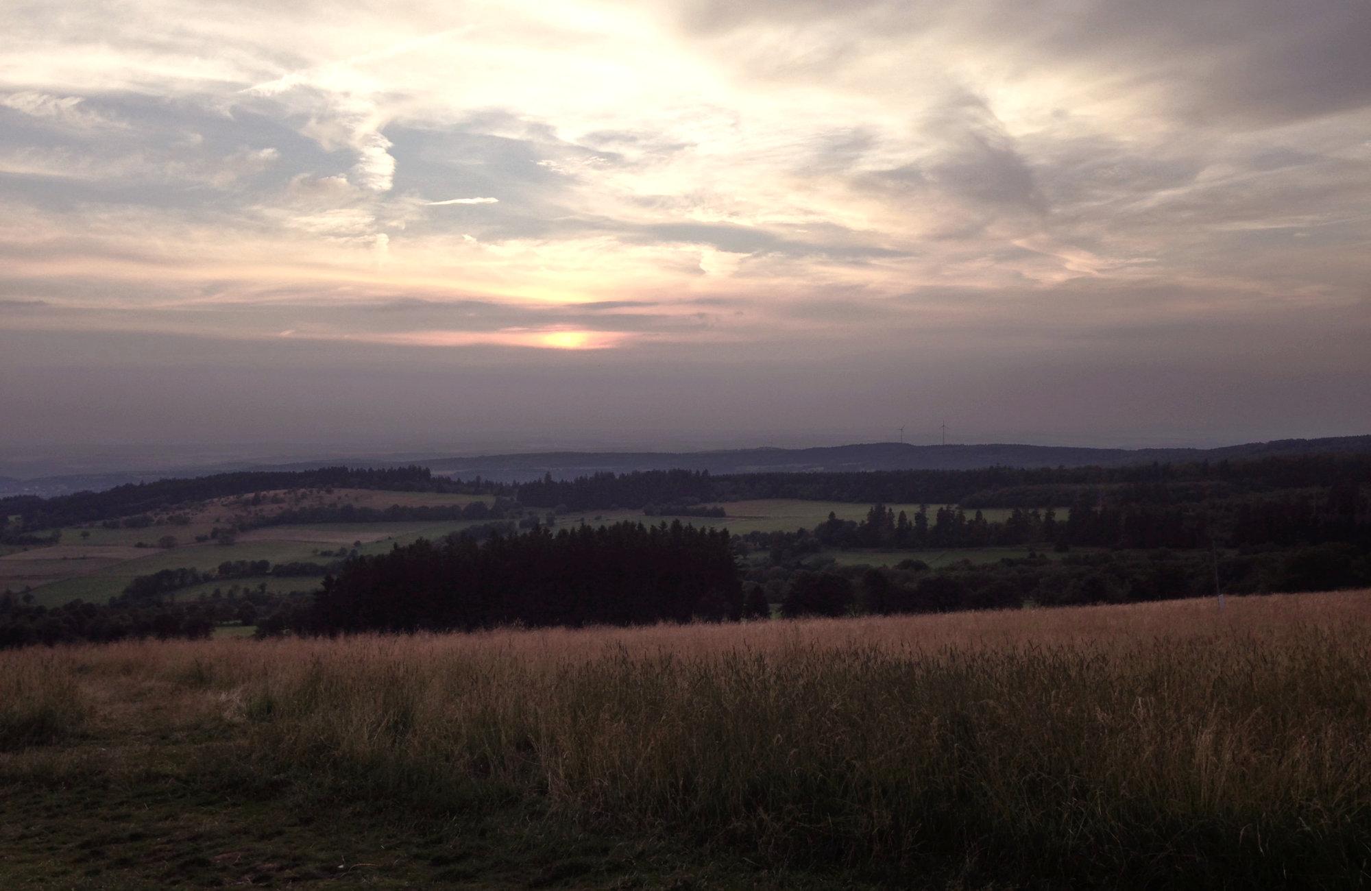 Wandertour in Deutschland, Wandern in HEssen, Vogtland