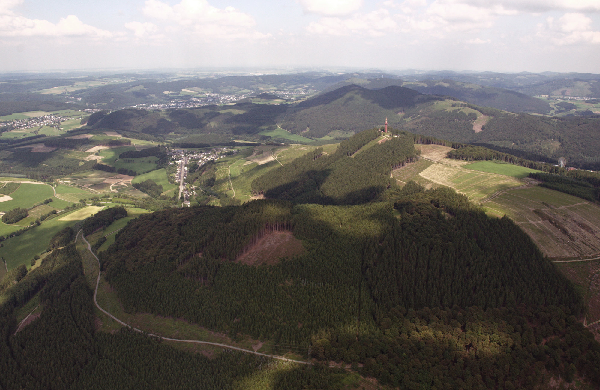 Wandern in Nordrhein-Westfalen Rothaargebirge