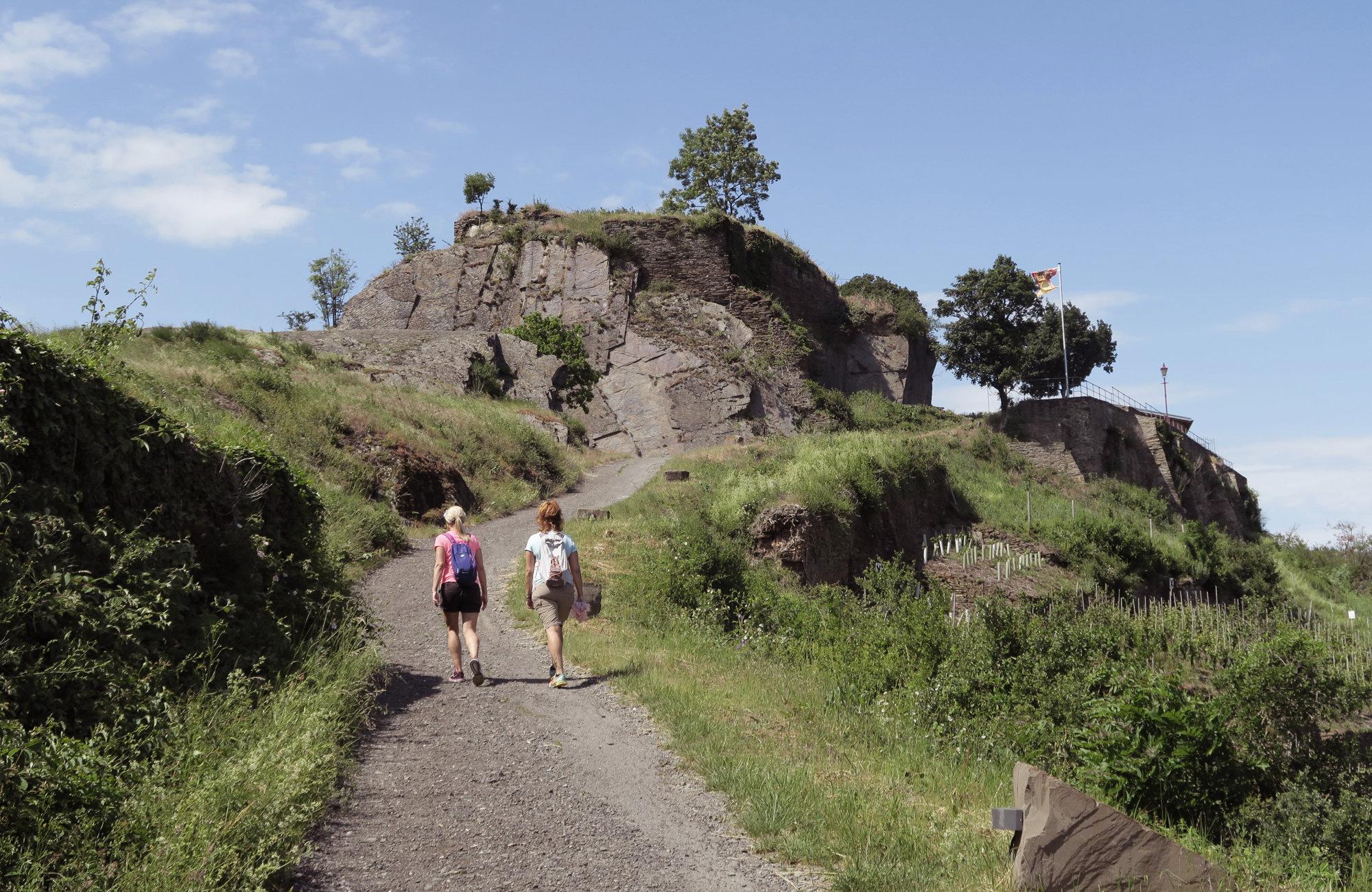 Wandern in Rheinland Pfalz: Ahrtal, Deutschland Wandertour