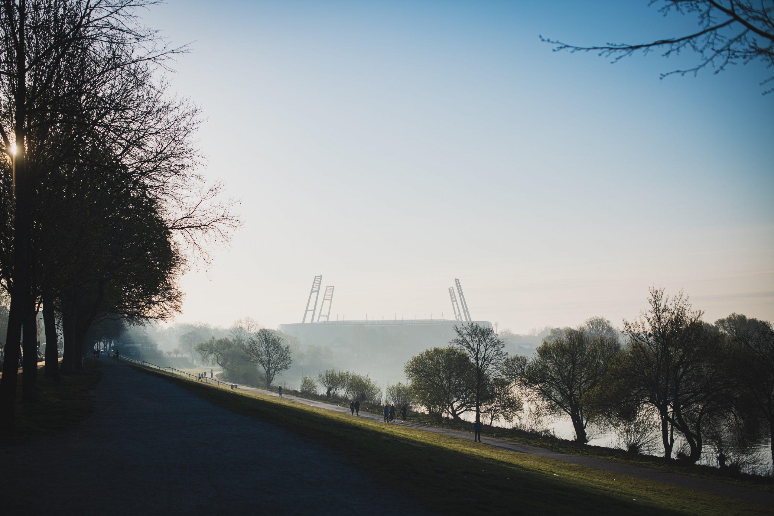 Wandertouren in Deutschland, Wandern in Bremen, Wandern an der Weser