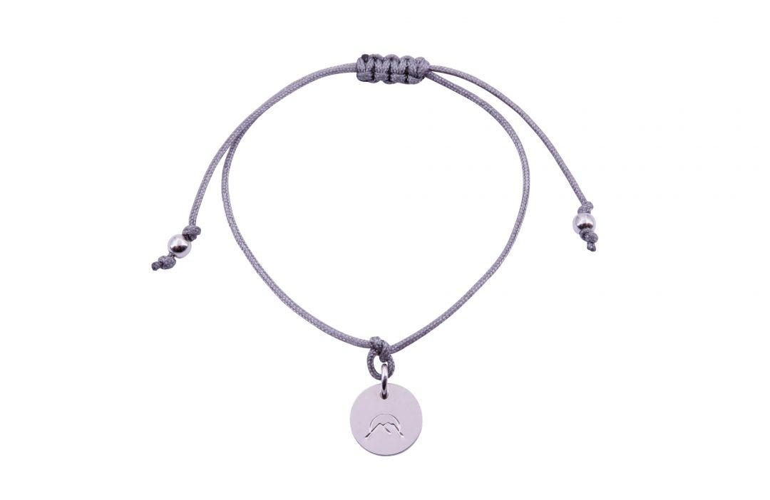 Fjella Mini-Bergfex Armband Sonnenberg Silber Grau Freigestellt Webseite