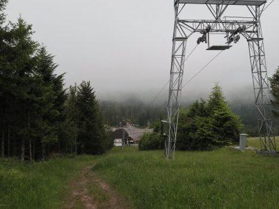 Skihang am Parkplatz Seibelseckle, Trekking im Schwarzwald