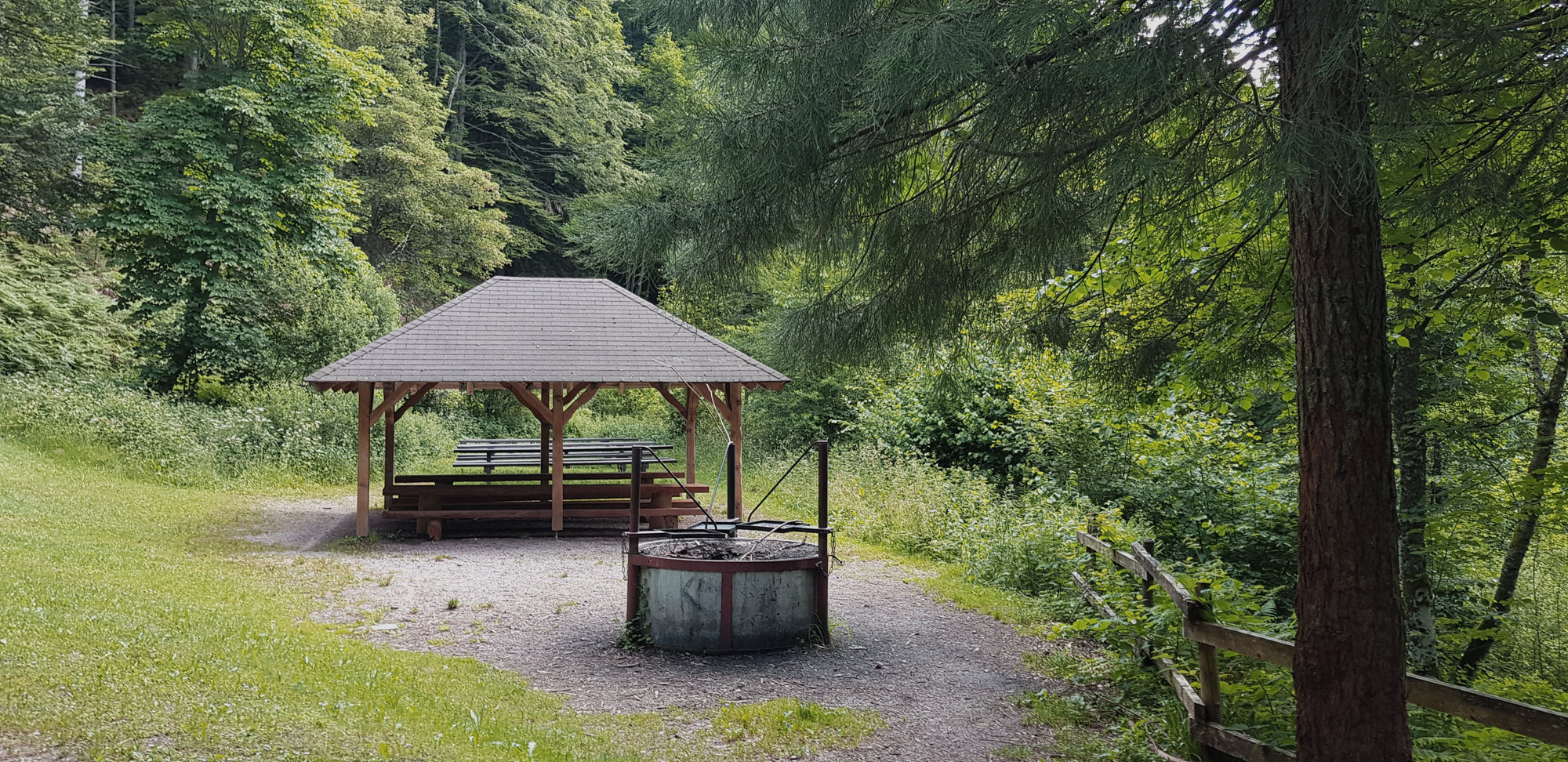 Grillhütte im Schwarzwald