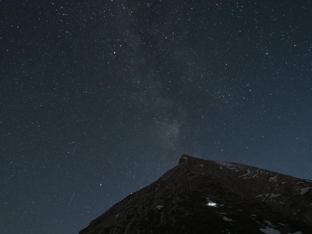 Watzmann mit Milchstraße