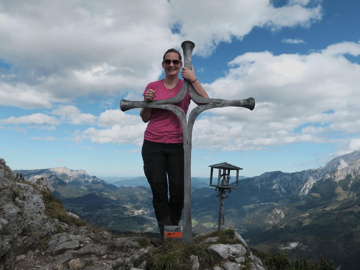 Gipfelkreuz Mooslahnerkopf