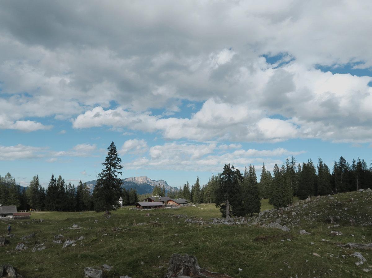 Kührointhütte in Sicht, Berchtesgadener Alpen