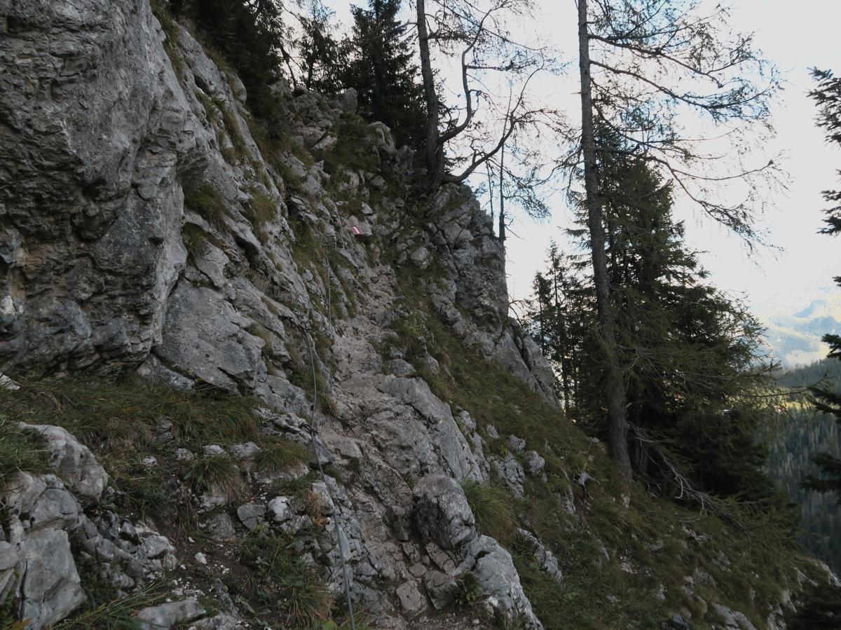 Aufstieg zum Watzmannhaus über den Falzstieg
