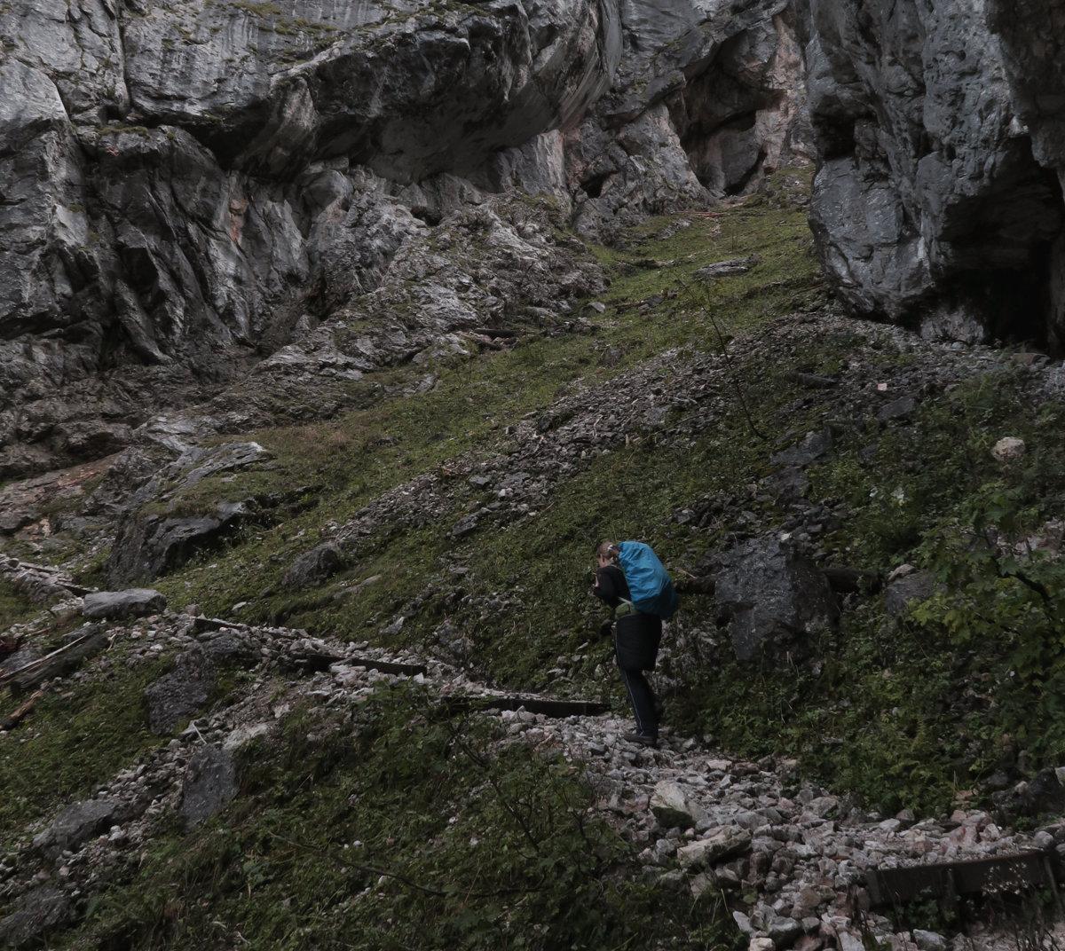 Aufstieg Saugasse, Hüttentour Königssee