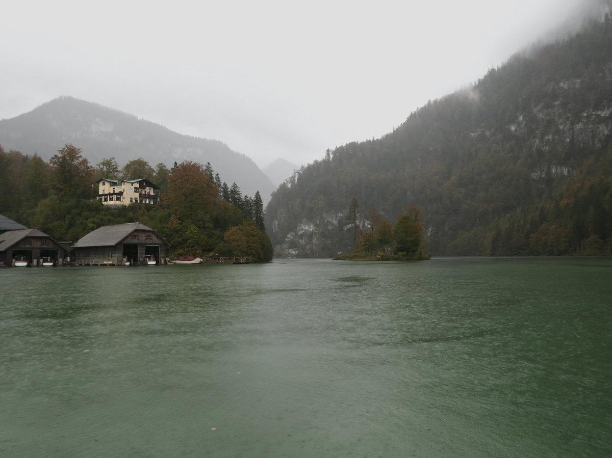 Königssee im Nebel