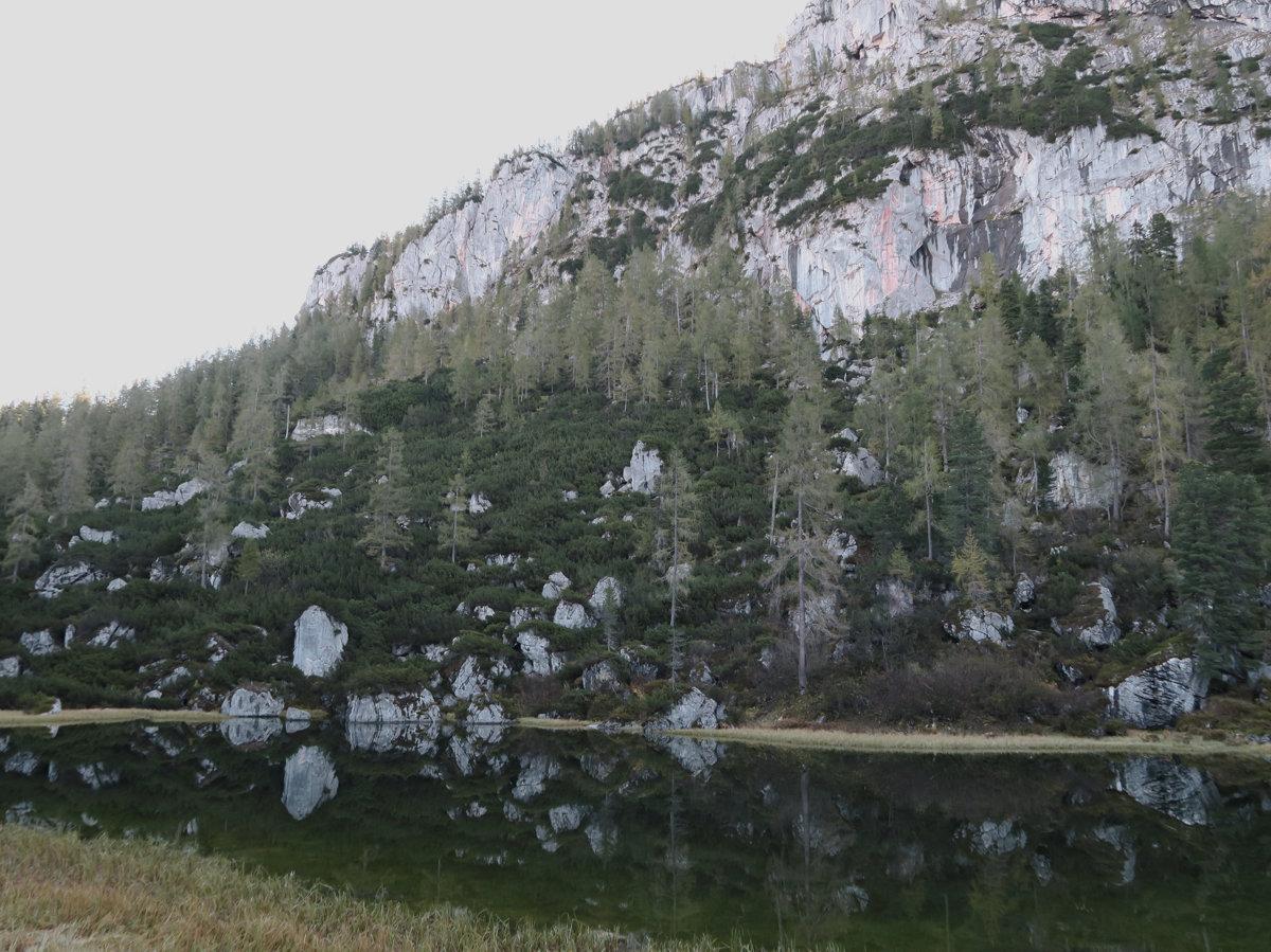 Grünsee mit Spiegelung, Berchtesgadener Alpen, Deutschland