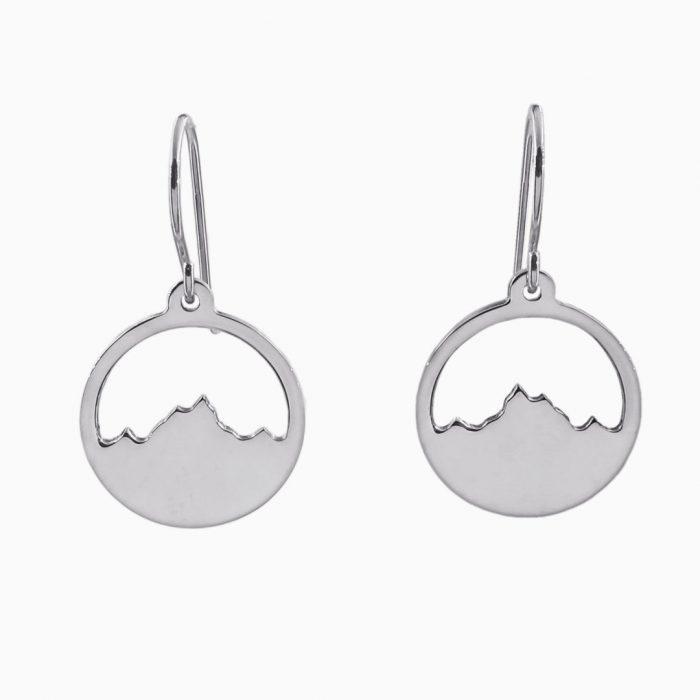Alpenblick Ohrringe Silber Webseite