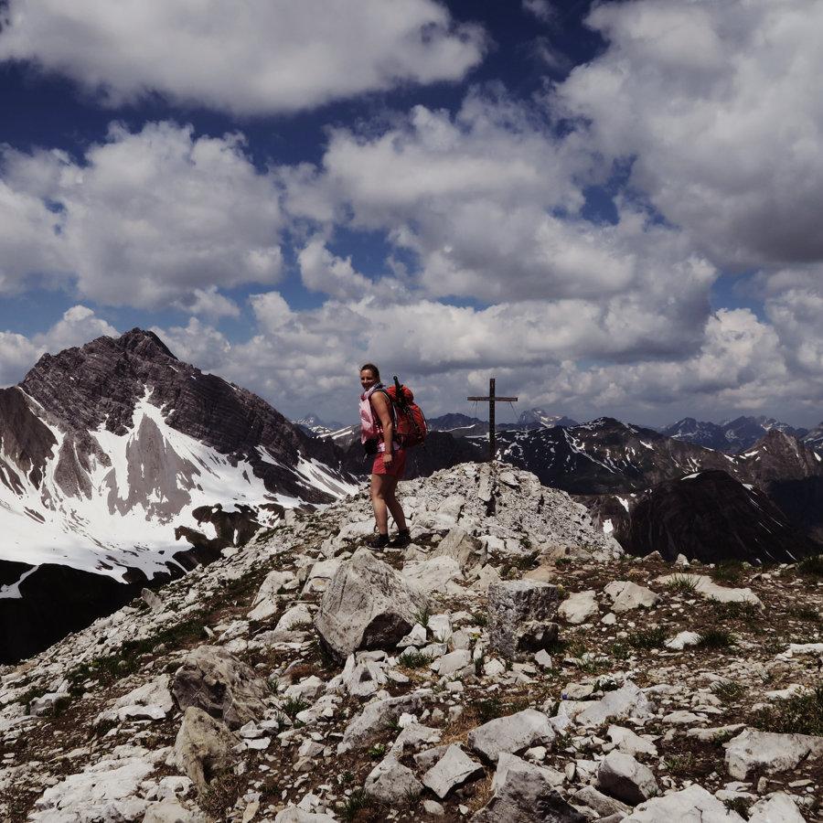 Wanderung Kaisers Grießkopf Tirol Österreich Fjella