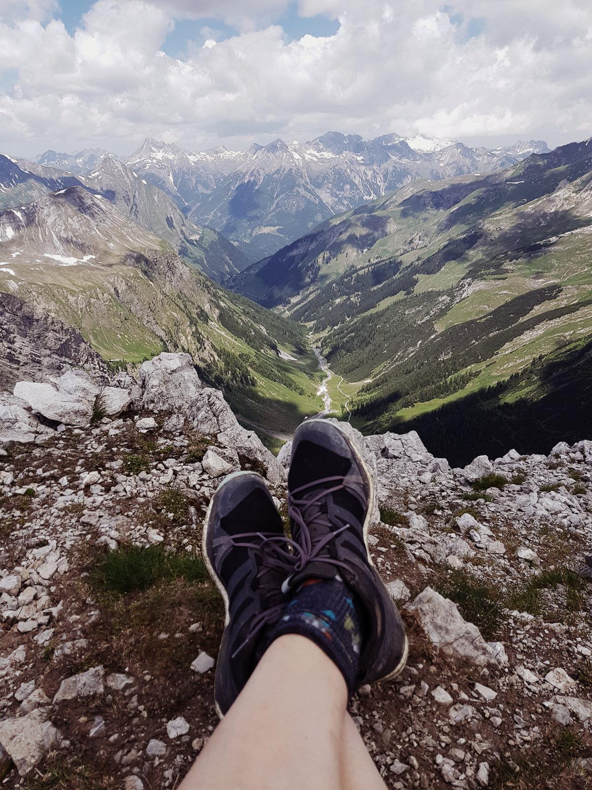 Gipfelblick Richtung Lechtal vom Grießkopf