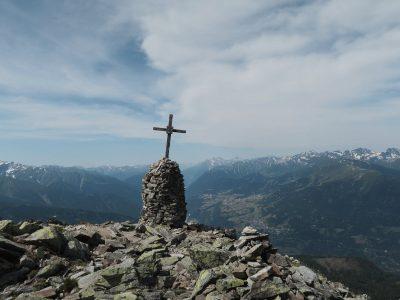 Gipfelkreuz Kleine Aifner Spitze