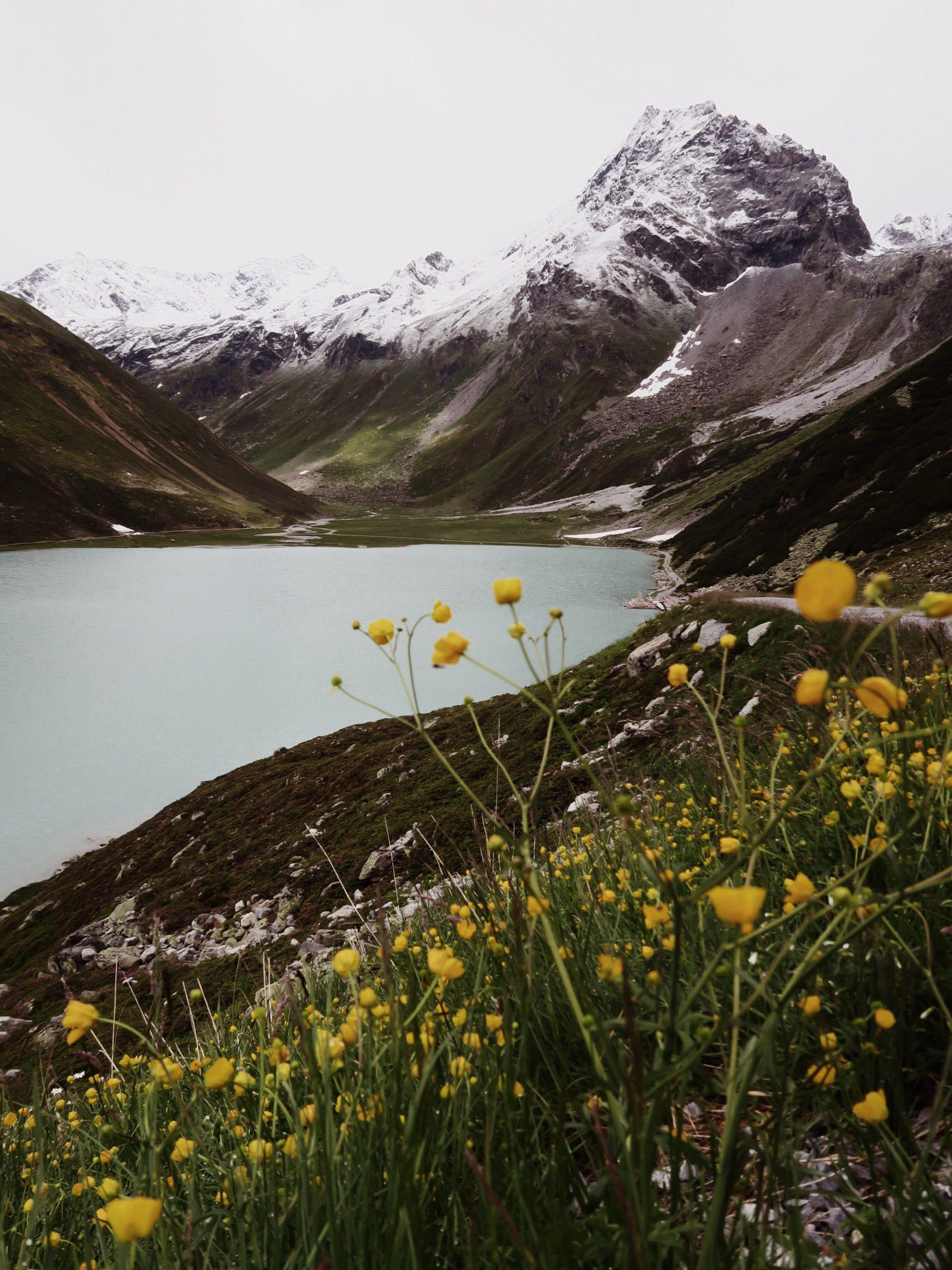 Österreich Wanderungen im Pitztal Rifflsee