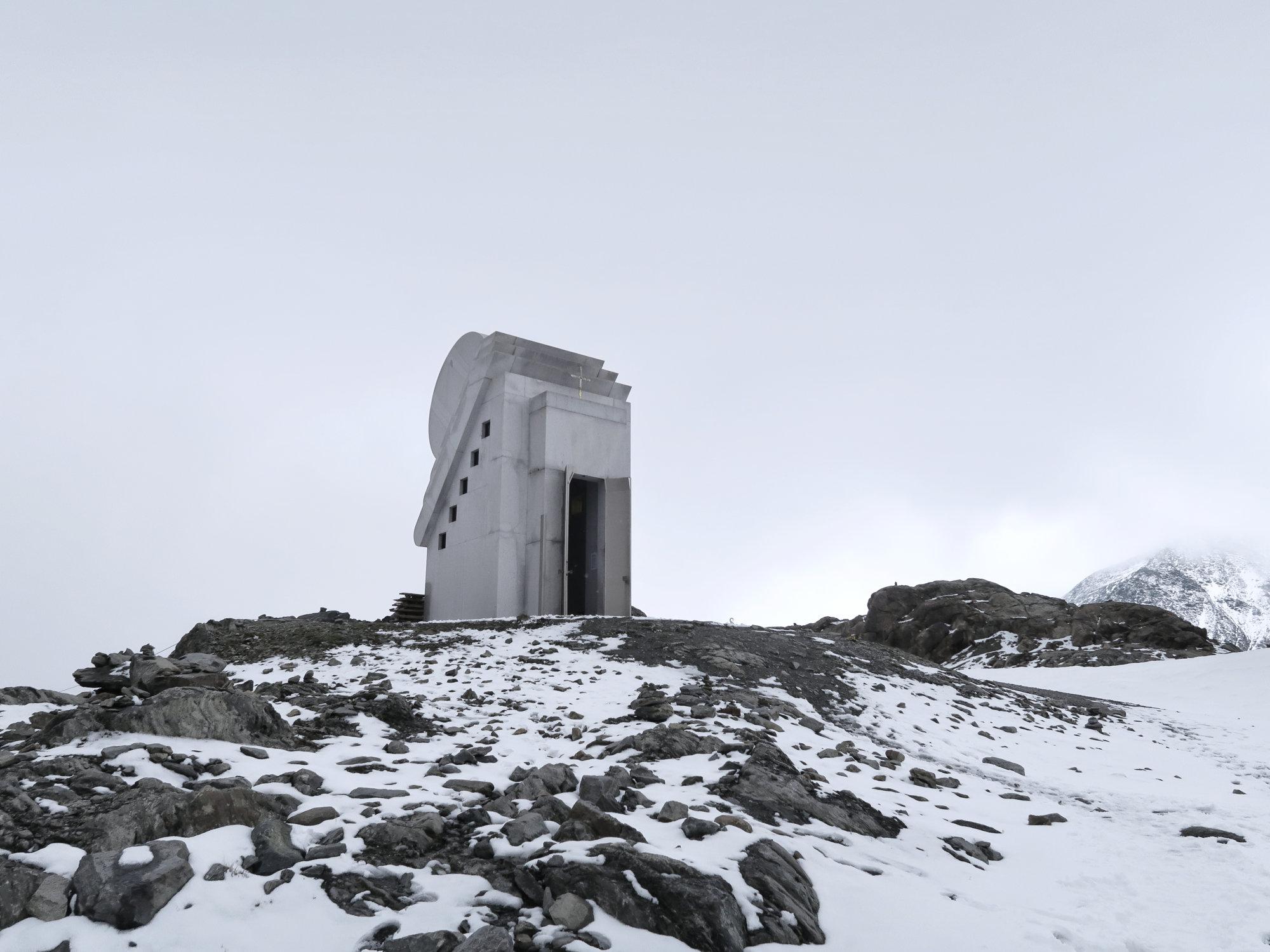 Kappelle des Weißen Lichtes am Pitztaler Gletscher