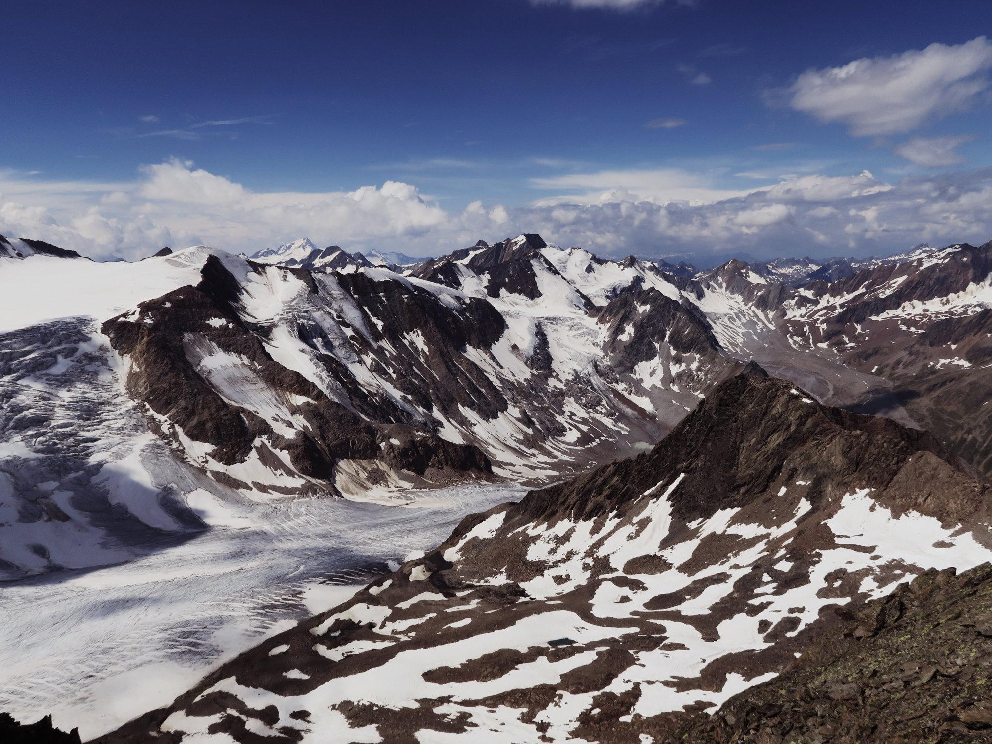 Blick zur Hochvernagtspitze