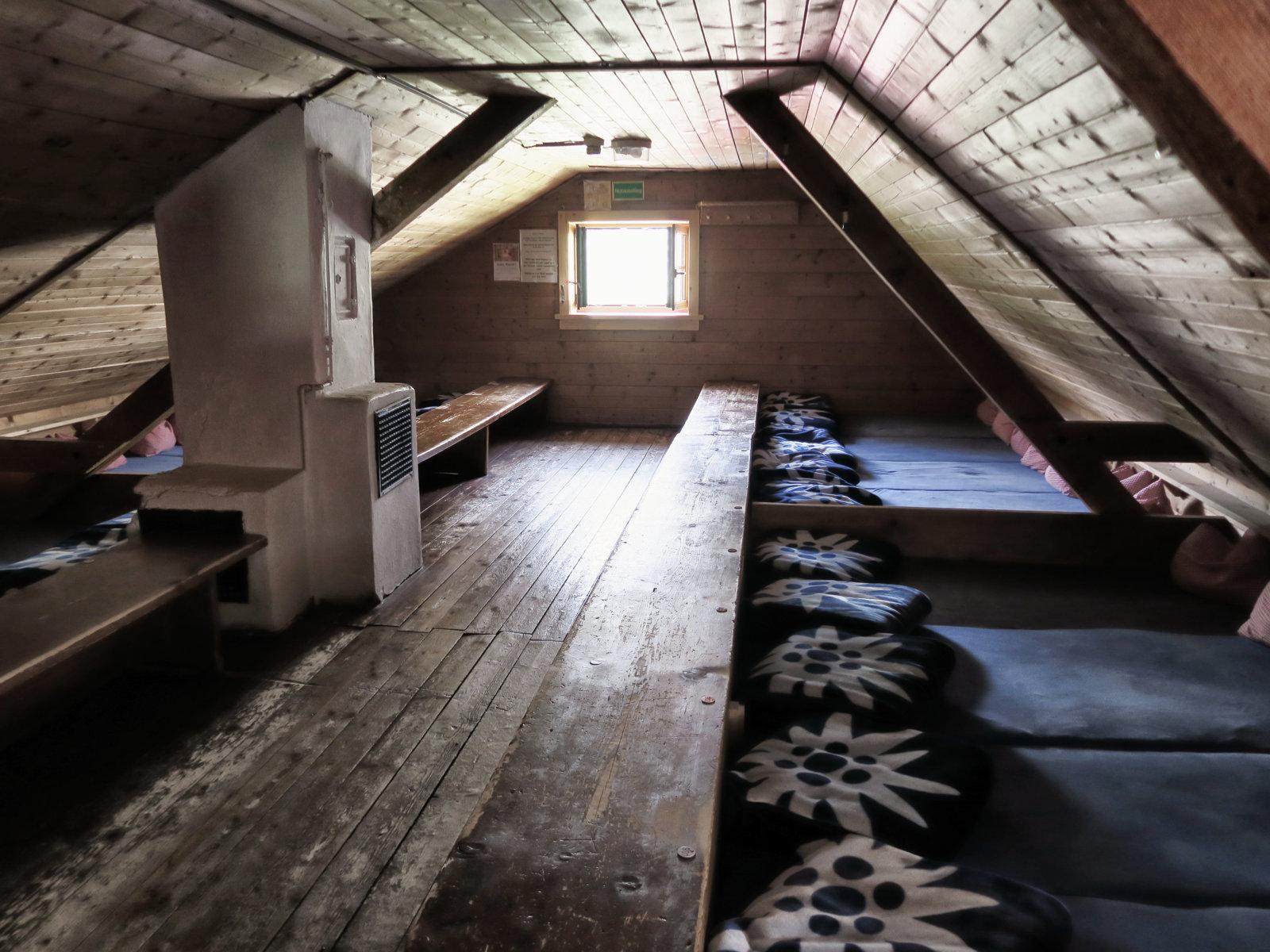 Mein Schlaflager im Prinz-Luitpold-Haus